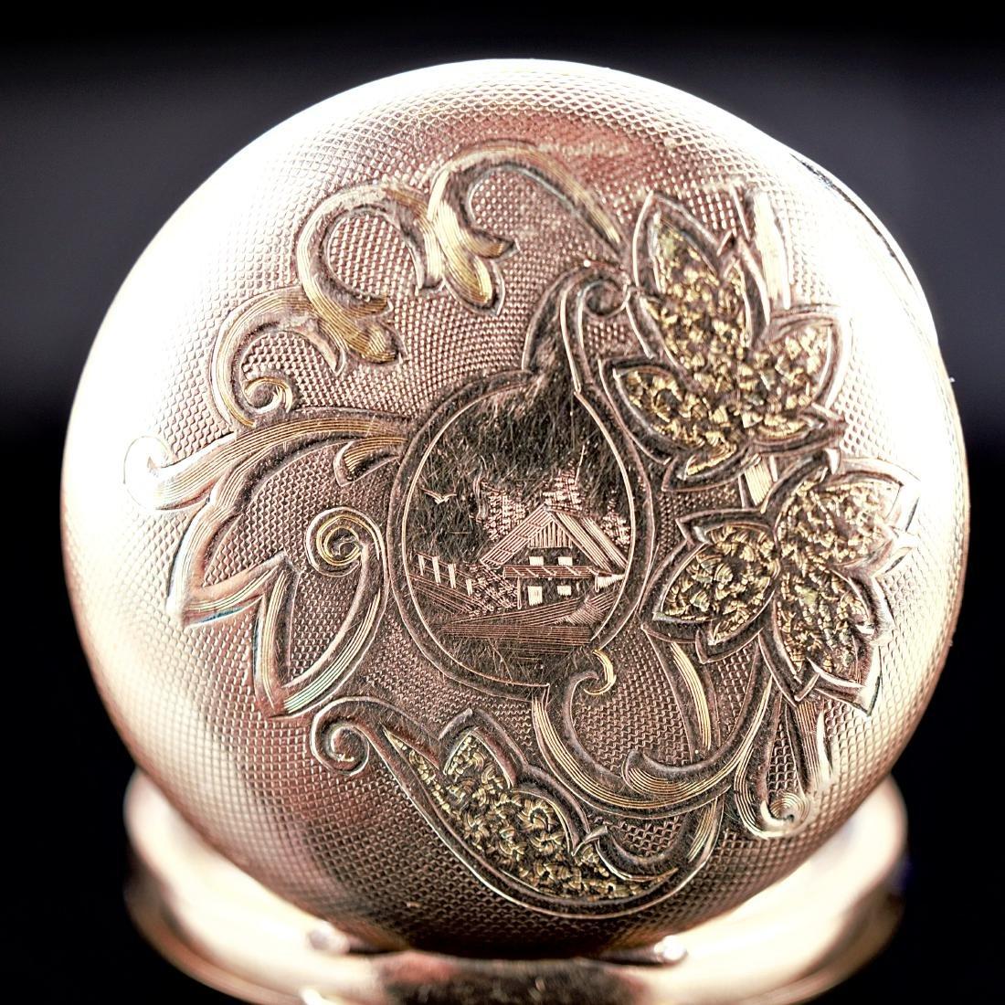 Hampden Dueber Special Gold Filled Pocket Watch 16S