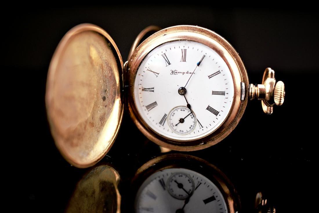 Hampden Dueber Special Gold Filled Pocket Watch 16S - 2
