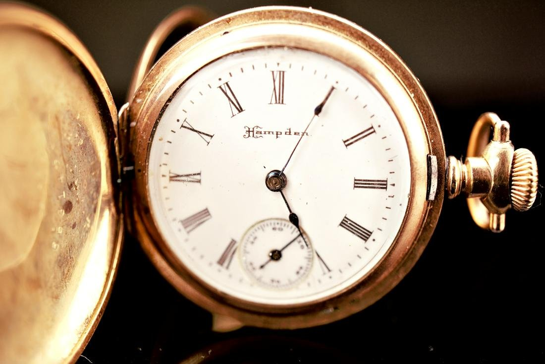 Hampden Dueber Special Gold Filled Pocket Watch 16S - 3