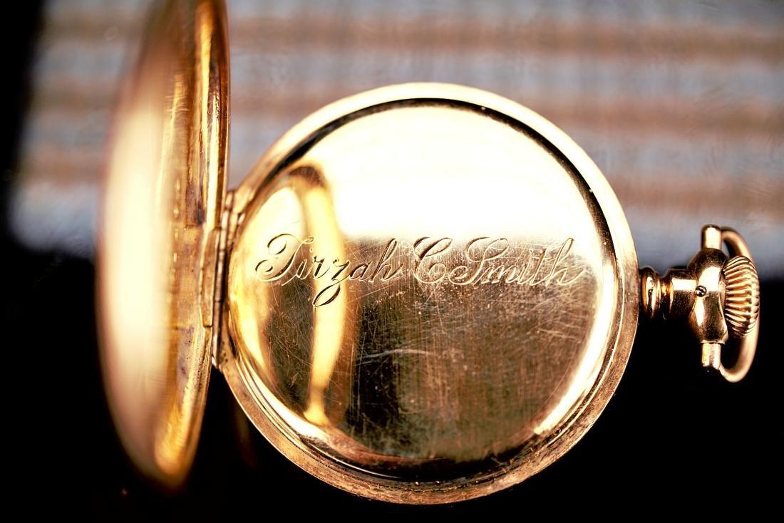 Hampden Dueber Special Gold Filled Pocket Watch 16S - 5