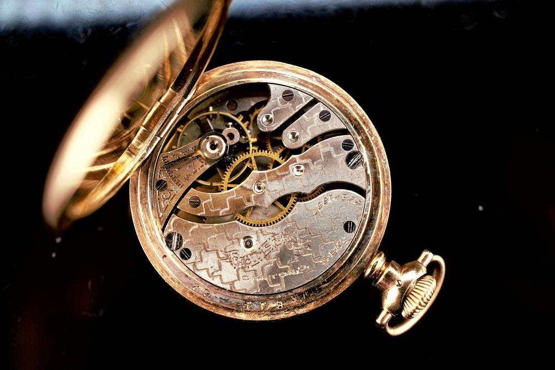 Hampden Dueber Special Gold Filled Pocket Watch 16S - 8