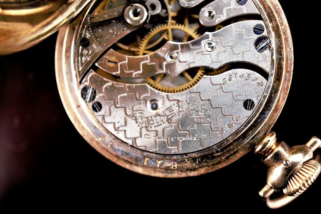 Hampden Dueber Special Gold Filled Pocket Watch 16S - 9