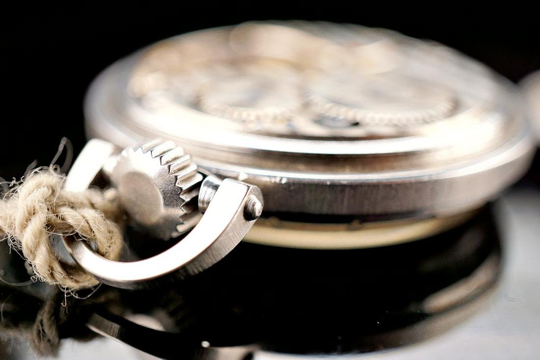 Hamilton Stainless Pocket Watch 18S - 6