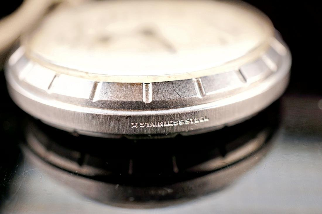Hamilton Stainless Pocket Watch 18S - 7