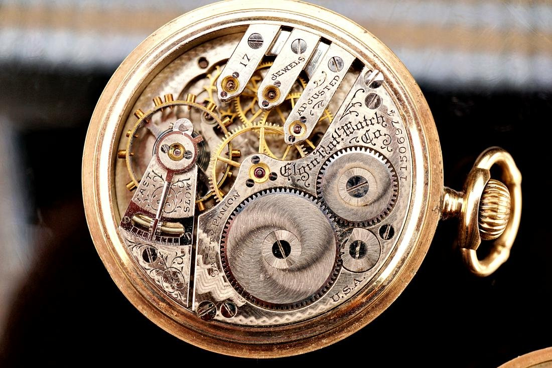 Elgin 20 Year Pocket Watch 16S - 8