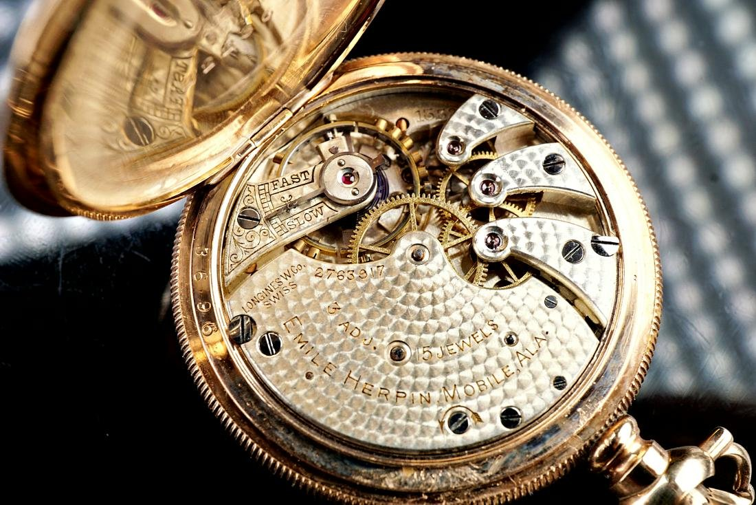 Longines Custom 25 Year Pocket Watch - 6