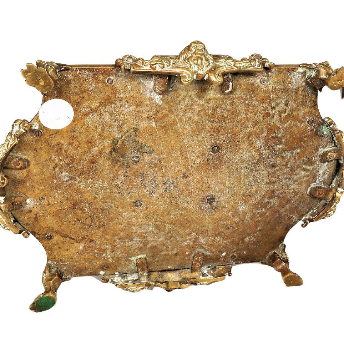 Louis XV Style Gilt Bronze Inkwell - 4