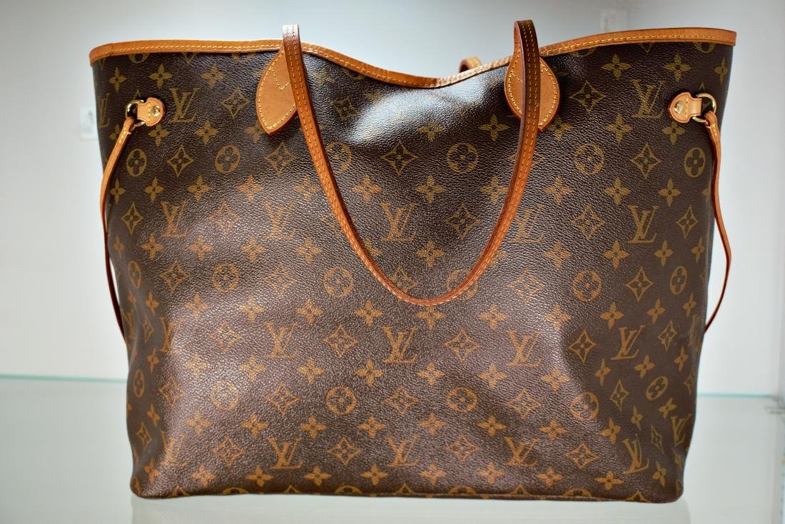 e9b7a71082c Louis Vuitton Neverfull GM Monogram Canvas Cherry