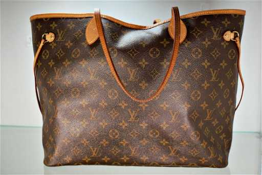 d14e4934887 Louis Vuitton Neverfull GM Monogram Canvas Cherry. See Sold Price