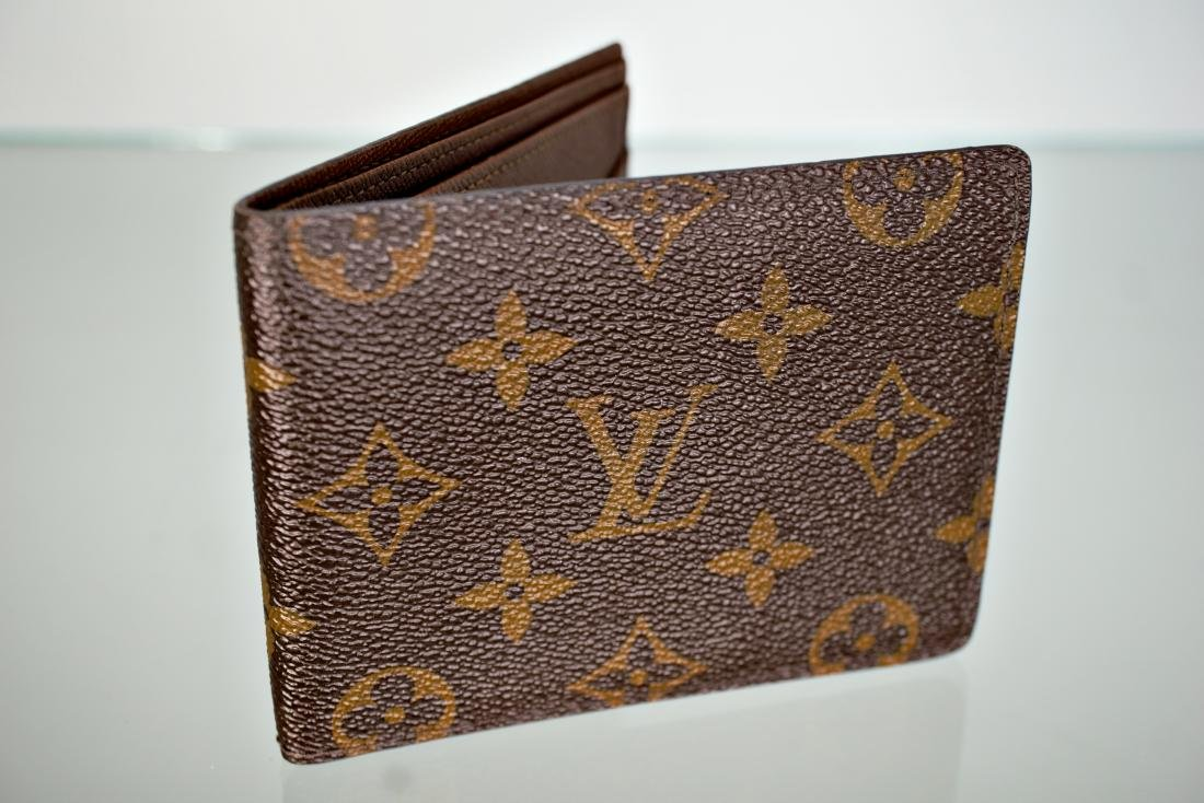 LOUIS VUITTON Monogram Multiple Mens Wallet
