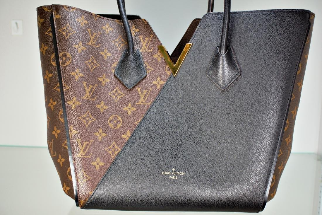 Louis Vuitton Kimono Tote Monogram Canvas Handbag - 2