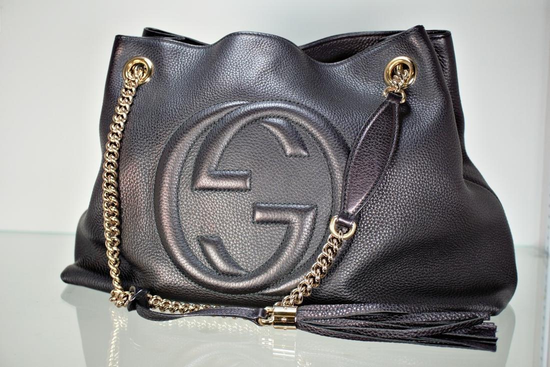82f546a6 Gucci Soho Leather Shoulder Bag