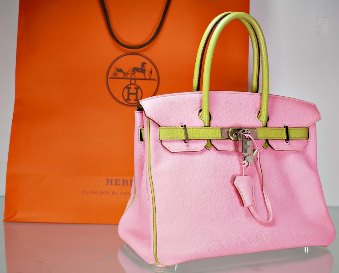 Hermes Birkin 30 Palladium Bag