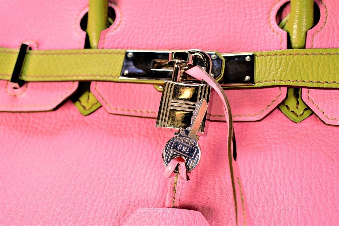 Hermes Birkin 30 Palladium Bag - 4
