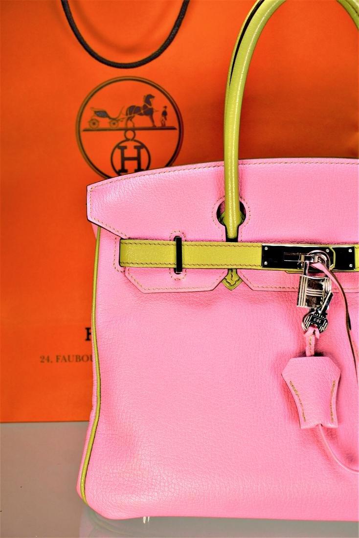 Hermes Birkin 30 Palladium Bag - 5