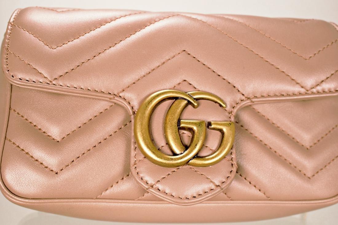 Gucci GG Marmont Matelassé Leather Super Mini Bag - 2