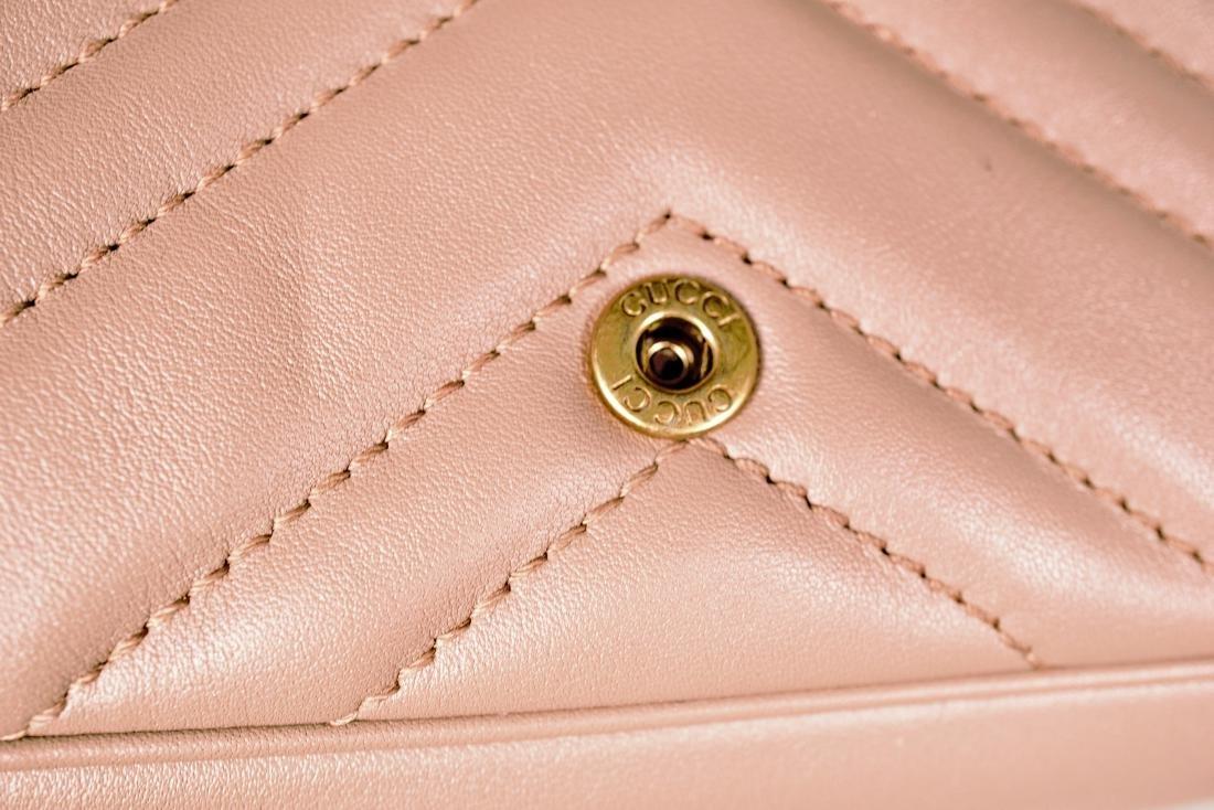 Gucci GG Marmont Matelassé Leather Super Mini Bag - 3