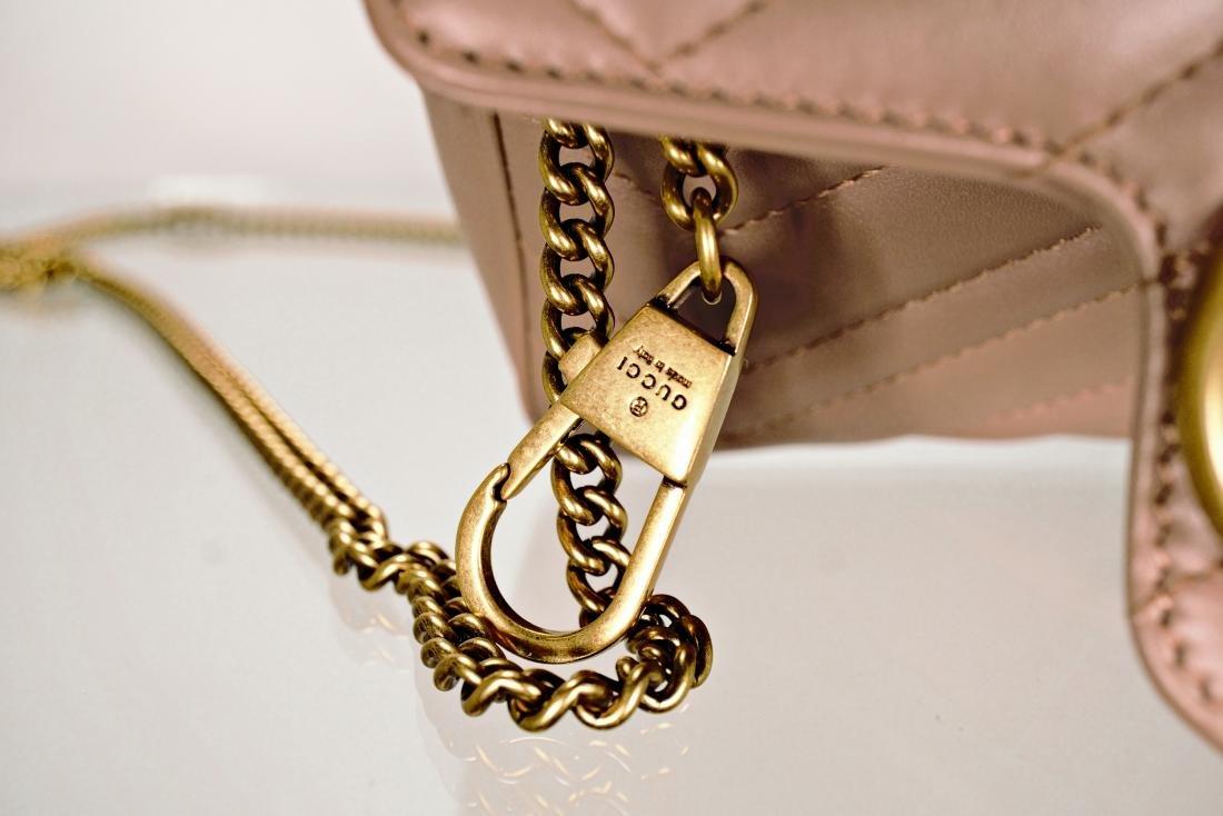 Gucci GG Marmont Matelassé Leather Super Mini Bag - 5