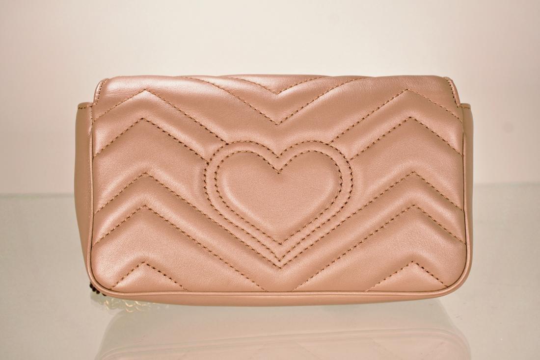 Gucci GG Marmont Matelassé Leather Super Mini Bag - 6
