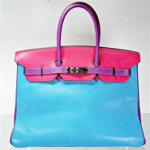 7f9e3205de7 Hermes Birkin 35 Palladium Bag