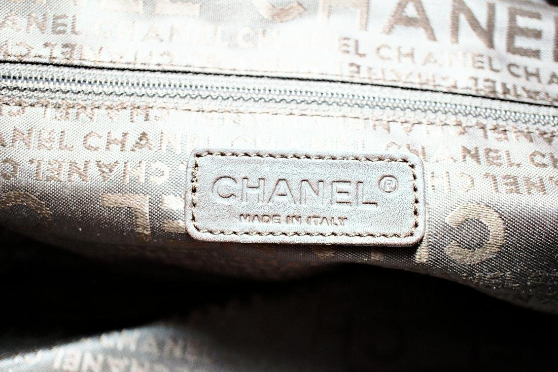 Chanel Camellia Flower Suede Bag - 5
