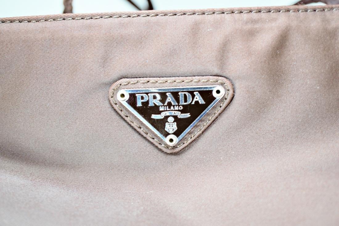 Chocolate Nylon Prada Bag - 2
