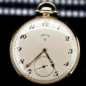 Lord Elgin 14k YG Pocket Watch