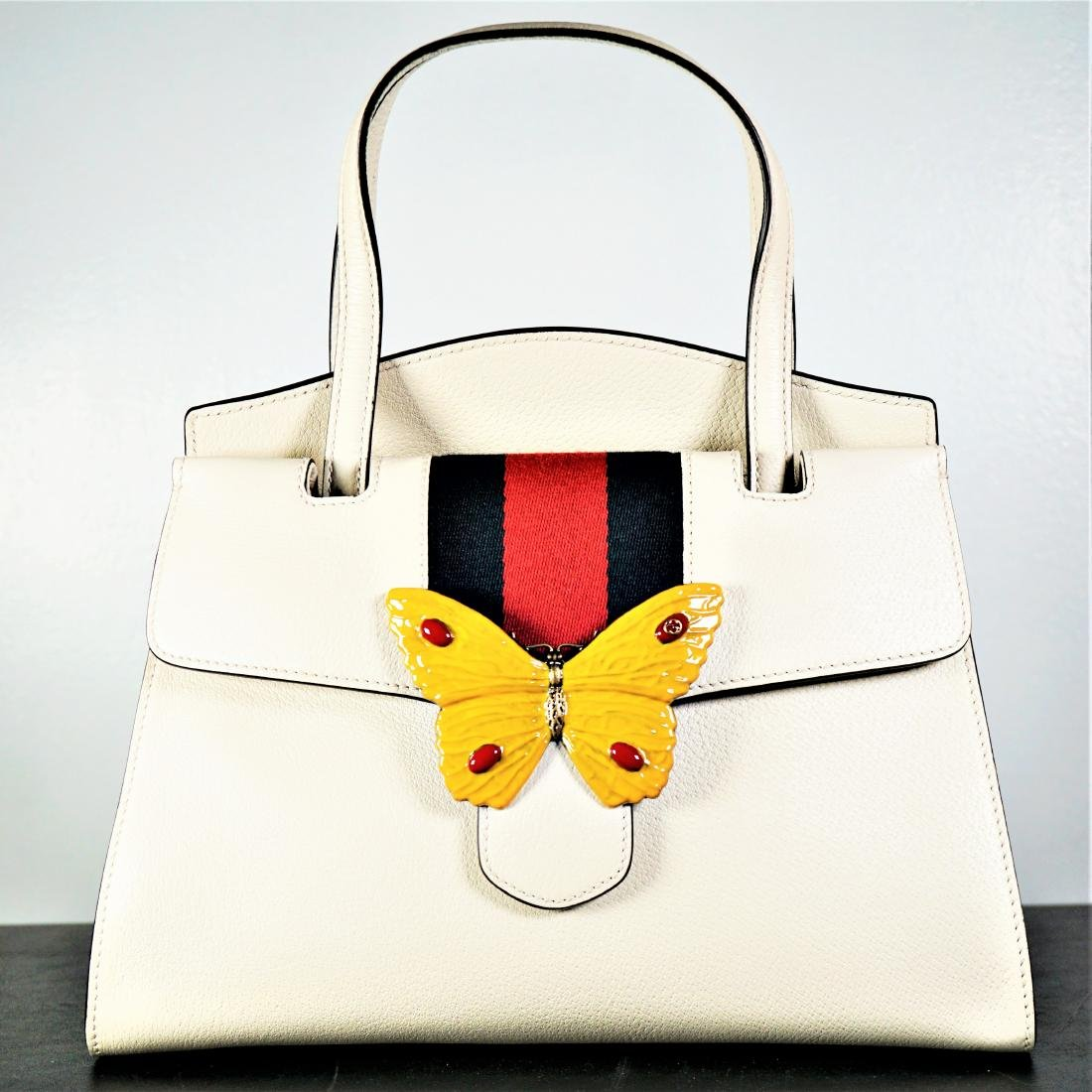 6c9b33d02d0e GUCCI Linea Totem Medium Top Handle Bag