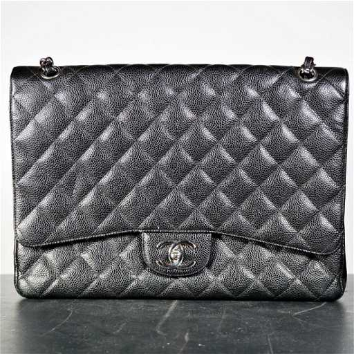 cc88e0437f9934 Chanel Caviar Quilted Jumbo Double Flap Bag