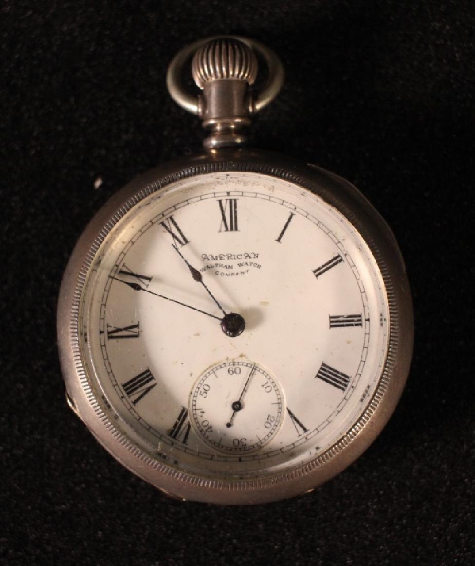 Waltham Model 1883 Open Face Pocket Watch
