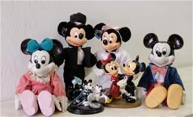 Group, Six Pcs Disney Mickey & Minnie Mouse