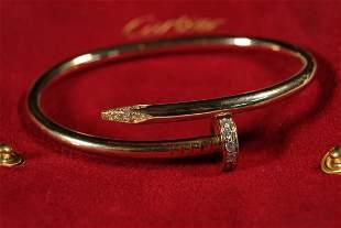 Cartier Juste un Clou YG w/Diamonds