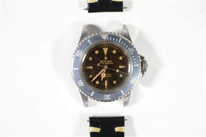 Vintage Rolex 5512 Gilt Chapter Ring Submariner