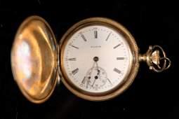 Elgin Grade 295 Model 2 Pocket Watch 14k