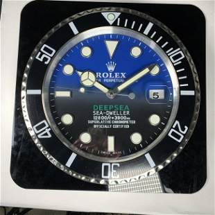 Rolex Deepsea Sea-Dweller Wall Clock