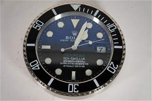 Rolex Deepsea Sea-Dweller Wall Clock