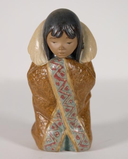 Lladro Porcelain Figural Sculpture 'Arctic Winter'
