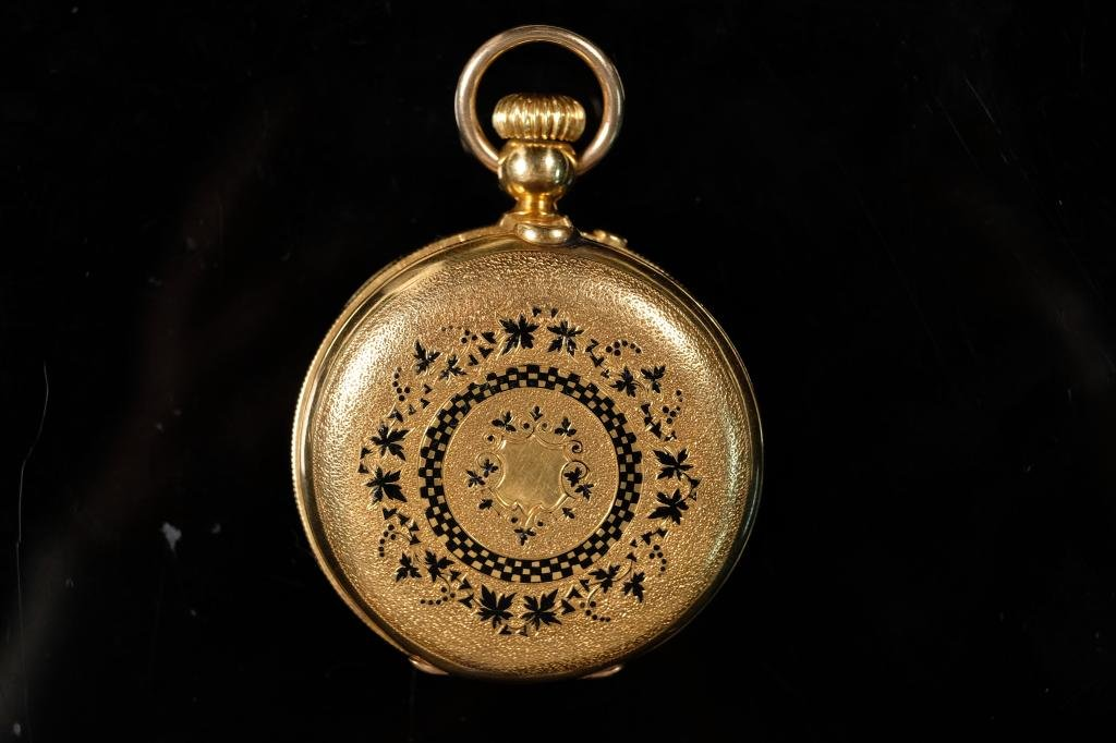 Henry Hoffman Locke 18k Pocket Watch