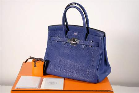 Hermes Birkin 30 Palladium Hardware & Original Box