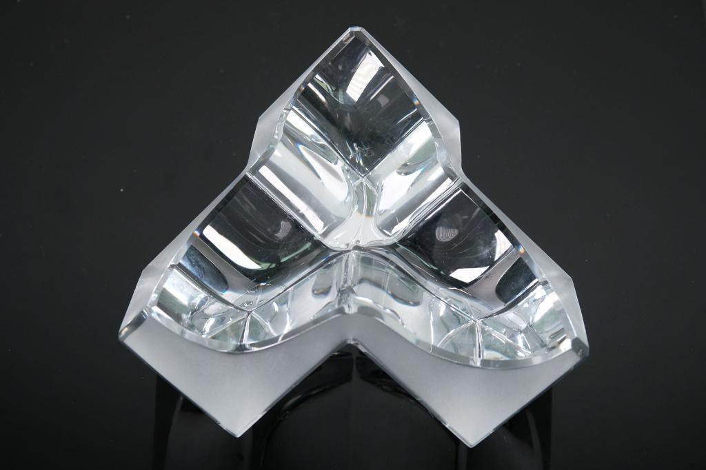 "Daum Post Modern Crystal Bowl ""Roc 17"", 1980s"