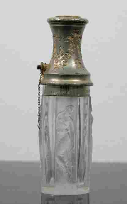 Rene Lalique Glass Atomizer Le Parisien