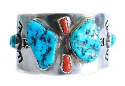 Scarce Hopi Bracelet Willie Archie Talahaftewa