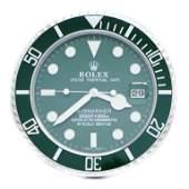 Rolex Submariner Dealers Wall Clock