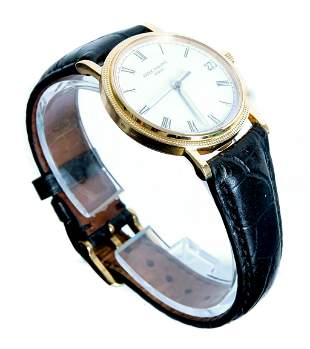 Vintage Patek Philippe 18k Gold Calatrava Watch