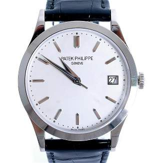 Patek Philippe Calatrava 18k WG Watch