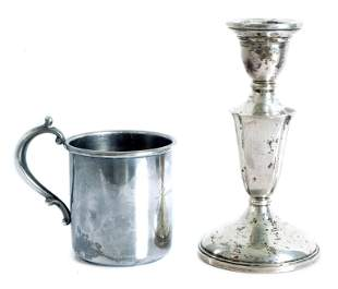 Two Sterling Silver Table Accessories