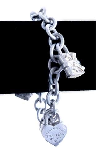 Tiffany & Co. Return to Tiffany 925 Charm Bracelet