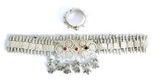 Old High Grade Silver Ceremonial Wedding Jewelry