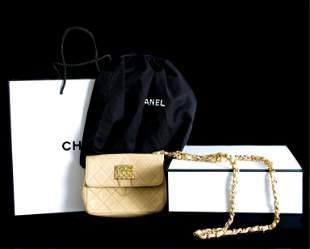 Rare One of a Kind Micro Chanel Flap Bag