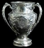 Fantastic Gorham Sterling Repousse Loving Cup